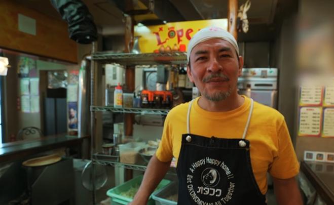 Fernando López dirige uno de los restaurantes más famosos de Hiroshima, Japón (Foto Prensa Libre: YouTube / alanxelmundo).