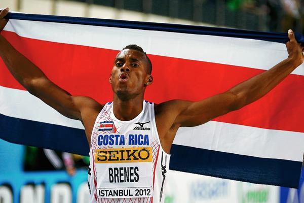 Brenes es la carta ganadora de Costa Rica en los 400 metros, se prepara para los juegos Panamericanos de Toronto. (Foto Prensa Libre: Tomada de intenet)