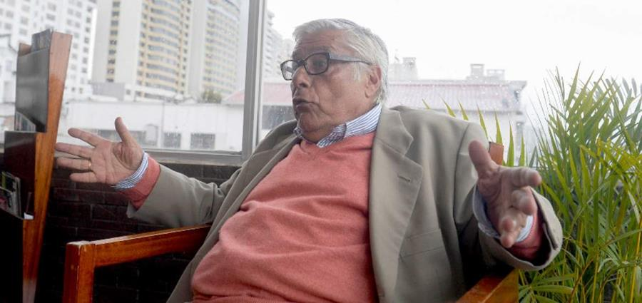Miguel Ángel Bastenier (Toma de pantalla)
