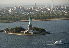 La Estatua de la Libertad es un ícono de los Estados Unidos.