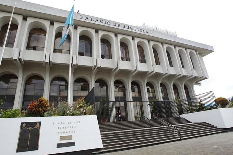 Fachada de la Corte Suprema de Justicia. (Foto Prensa Libre: Hemeroteca PL)