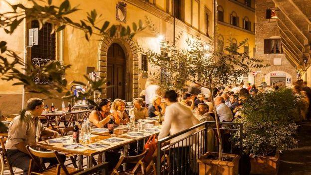 """Los expertos dicen que es la """"melodía"""" del idioma italiano lo que lo hace tan atractivo. (Getty Images)"""