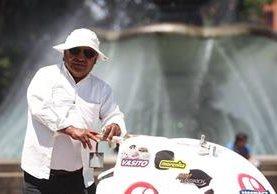 Marco Tulio Muralles vive en El Guarda del Golfo, zona 6. Foto Prensa Libre: Álvaro Interiano.