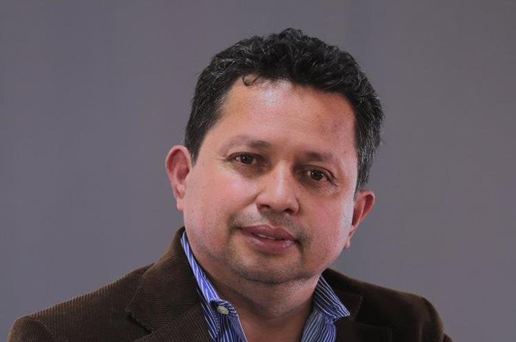 Edwin Méndez Puac,  alcalde San Pedro La Laguna. (Foto Prensa Libre)
