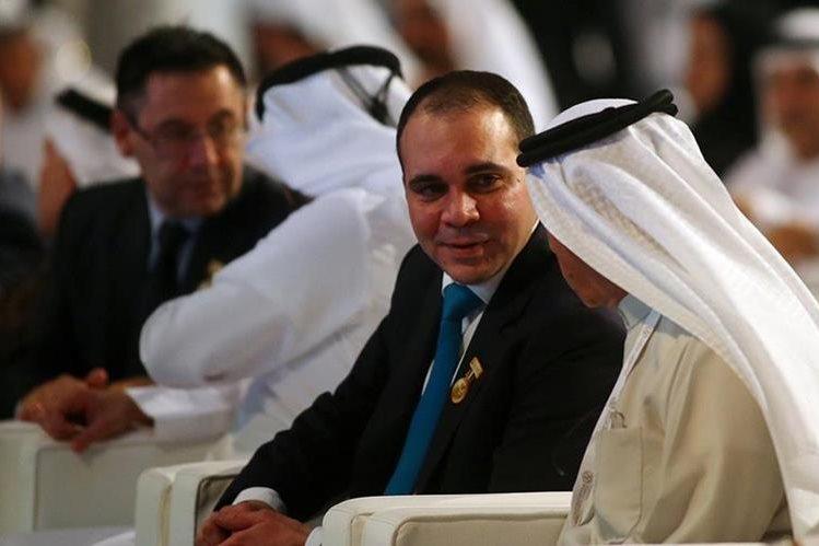 """El príncipe Ali, canidato a la presidencia de la Fifa pidió la publicación inmediata del """"informe García"""" (Foto Prensa Libre: AFP)"""