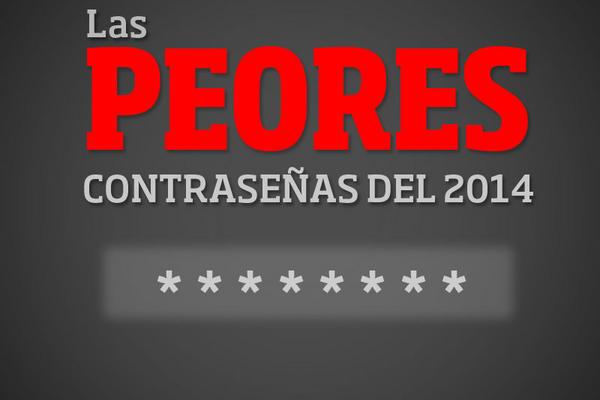 """<p>Splash Data compartió en las redes un listado de las contraseñas más inseguras de la red . (Fotoarte Prensa Libre: Josué León)<br _mce_bogus=""""1""""></p>"""