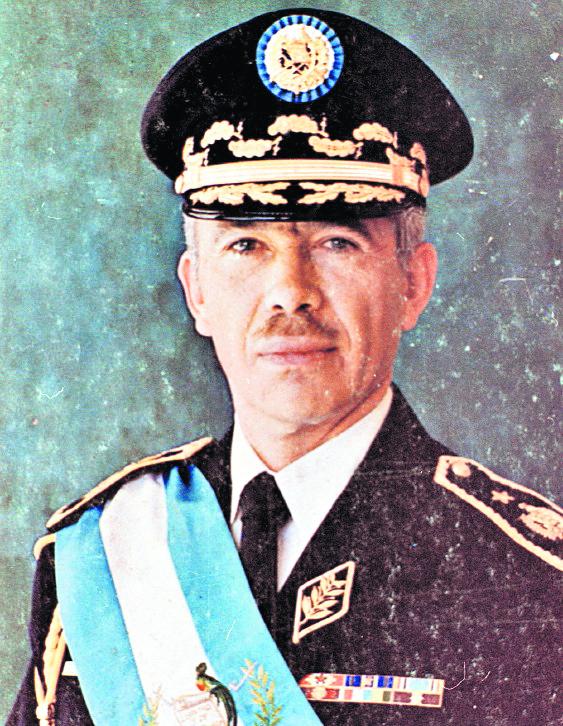Kjell Laugerud, presidente de Guatemala, en octubre de 1976. (Foto: Hemeroteca PL)