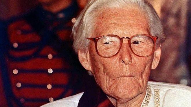 """María Reiche murió en 1998 en Lima y hasta ahora es querida y conocida en Perú como la """"Dama de Nasca"""". GETTY IMAGES"""