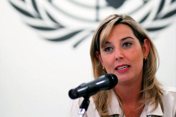 """<p>Gabriela Knaul, relatora especial de la Organización de las Naciones Unidas (Foto Prensa Libre: Tomada de Internet) <br _mce_bogus=""""1""""></p>"""