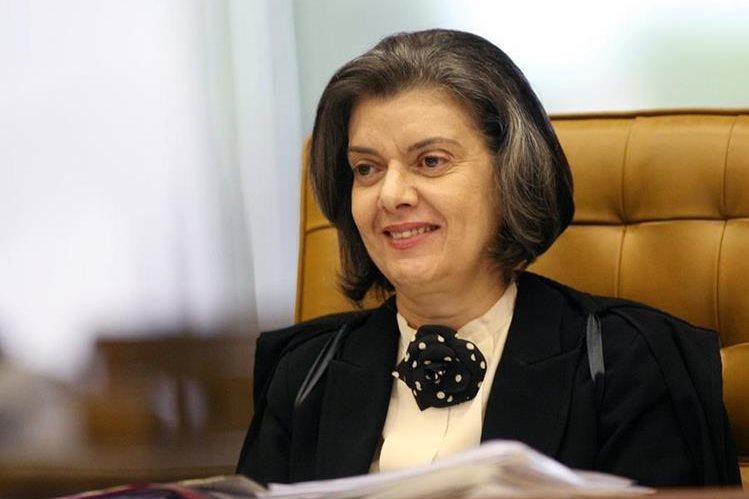 Cármen Lúcia, presidenta de la Corte Suprema convalida las 77 declaraciones de Odebrecht.