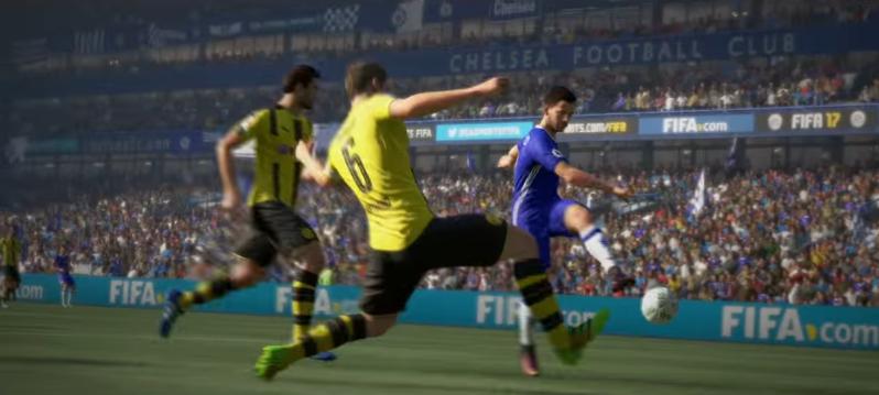 FIFA 17, tan solo en 2016, vendió nueve millones de copias para PlayStation 4 (Foto Prensa Libre: YouTube).