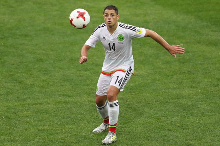 """Javier """"Chicharito"""" Hernández regresa a la Premier League, ahora con el West Ham. (Foto Prensa Libre: Hemeroteca PL)"""