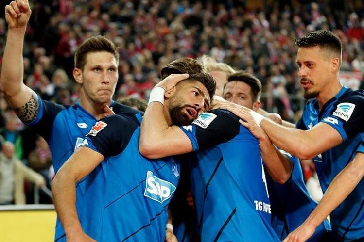 Demirbay marcó el gol del empate que le dio al Hoffenheim la clasificación al torneo europeo. (Foto Prensa Libre: EFE)
