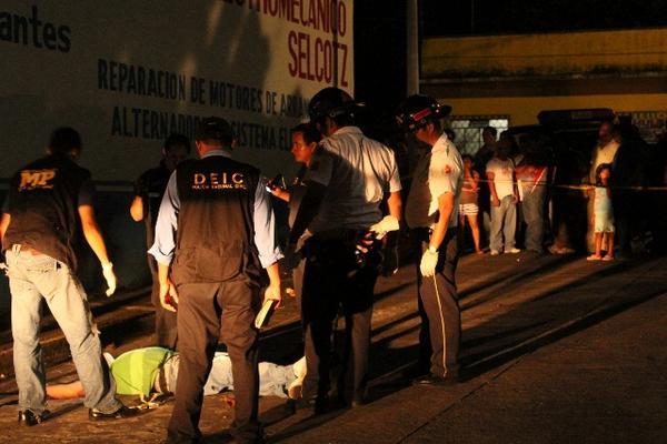 "<p>Crimen se cometió en la zona 2 de Mazatenango. (Foto Prensa Libre: Danilo López)<br _mce_bogus=""1""></p>"