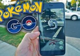 Pokémon Go es un juego de realidad virtual donde los usuarios buscan y entrenan pokémones. (Foto Prensa Libre: YouTube).