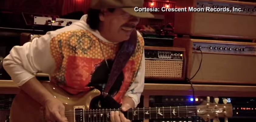 Imágenes de Carlos Santanta aparecen en el clip de Emilio Estefan. (Foto Prensa Libre: Crescent Moon Records, Inc.)