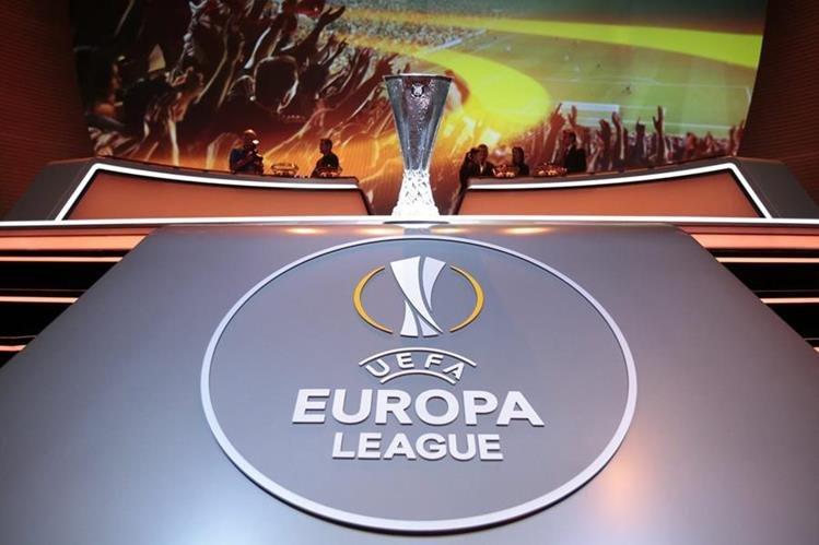 Este viernes se realizó el sorteo de la Europa League en Mónaco. (Foto Prensa Libre: EFE)