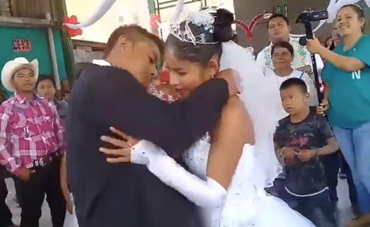 La novia más triste del mundo. ¡Vas a llorar al verla!