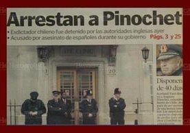 Portada de Prensa Libre del 18 de octubre de 1998. (Foto: Hemeroteca PL)