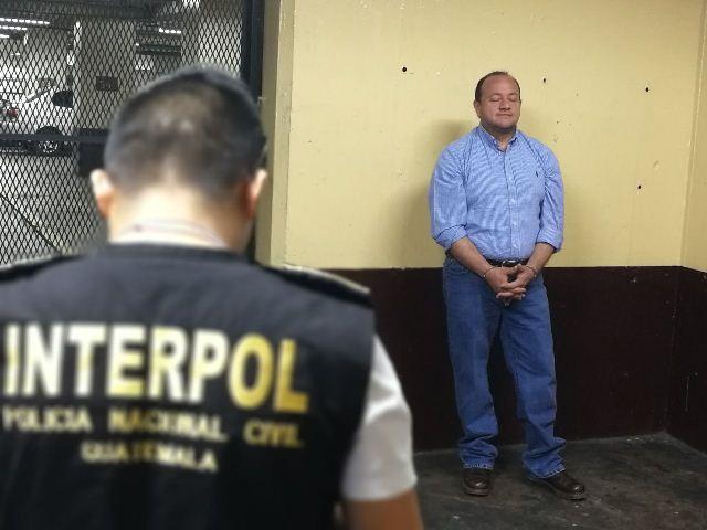 Herberth Osmin Mérida Elías es acusado de fraude en El Salvador y es solicitado en extradición. (Foto Prensa Libre: Esbin García)