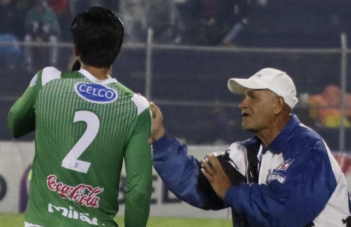 Wálter Claverí asegura que busca conformar una nueva base de jugadores para que Suchitepéquez vuelva a los primeros planos. (Foto Prensa Libre: Raúl Juárez)