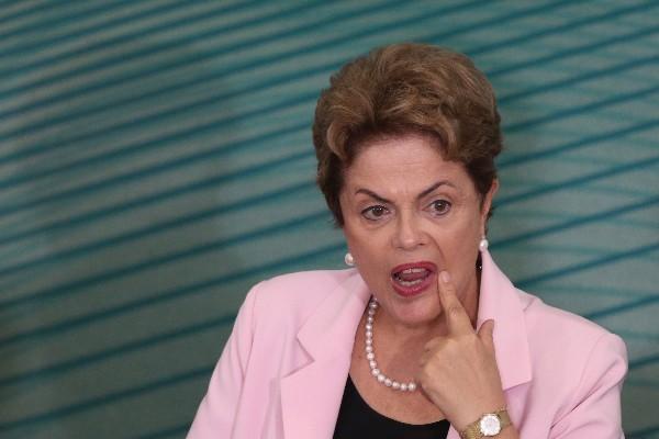 La presidenta brasileña, Dilma Rousseff.