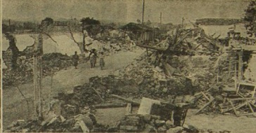 Desolación y muerte en San Martín dejó el sismo del 4 de febrero de 1976 en San Martín, Chimaltenango. (Foto: Hemeroteca PL)