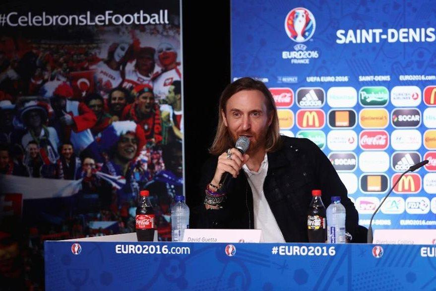 El Dj francés David Guetta es el autor del himno oficial de la Euro 2016. (Foto Prensa Libre: EFE)
