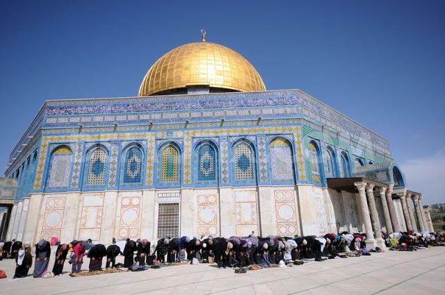 La Mezquita de la Roca, el lugar sagrado de los musulmanes. (Foto: Internet)