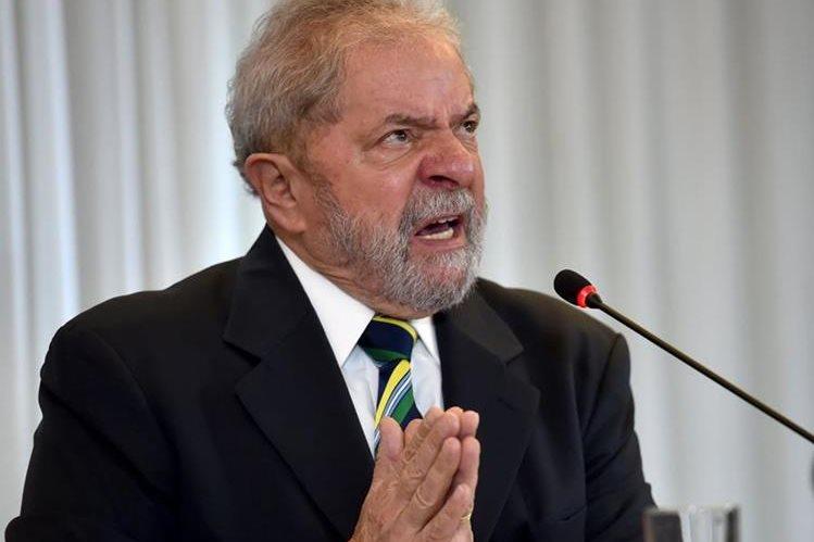 El expresidente de Brasil, Lula da Silva, encabezará las marchas. (Foto Prensa Libre: AFP).