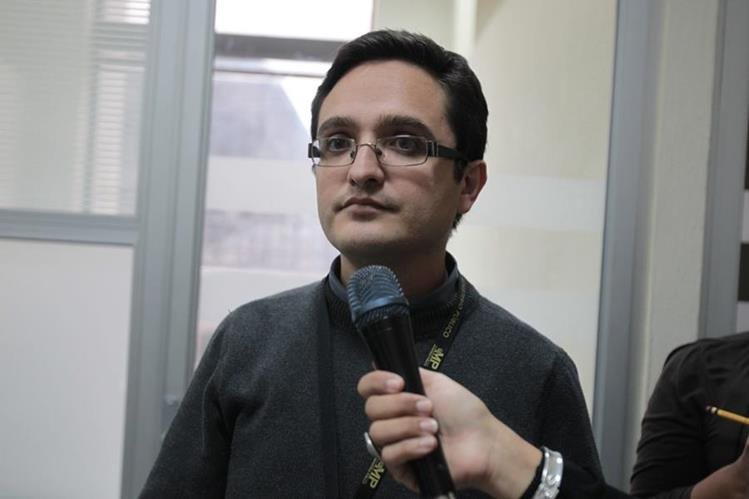 Juan Francisco Sandoval, fiscal del Ministerio Público