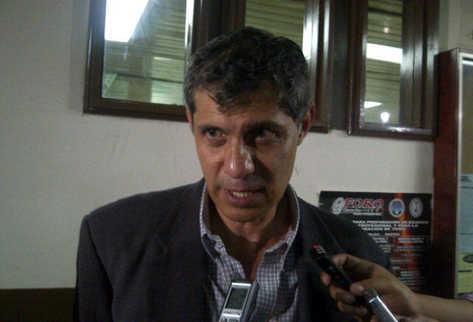 Investigador privado Óscar Celada Cuevas, detenido. (Foto: Hugo Alvarado)