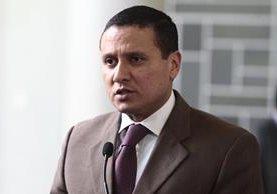 Carlos Raúl Morales, canciller (Foto Prensa Libre Hemeroteca PL)