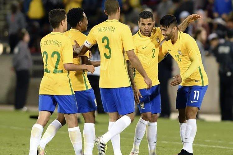 La Selección de Brasil venció a Panamá en su último partido amistoso. (Foto Prensa Libre: EFE)