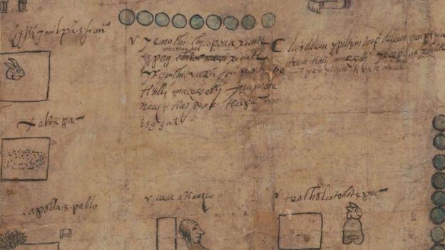 El manuscrito revela cómo los indígenas se adaptaban a las reglas de los españoles. BIBLIOTECA DEL CONGRESO DE EE.UU.