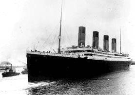 Foto del Titanic captada el 10 de abril de 1912, una de las últimas tomadas al barco. (Foto: Hemeroteca PL)