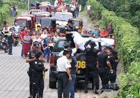 Álvaro Morales fue ultimado cuando se dirigía a su vivienda. (Foto Prensa Libre: Cristian I. Soto)
