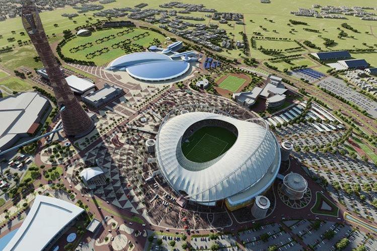 El Khalifa International Stadium de Doha fue construido para el Mundial del 2022. (Foto Redes Sociales).