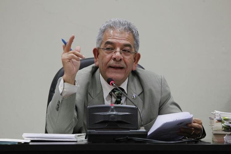 El juez Miguel Ángel Gálvez seguriá conociendo, en el Juzgado de Mayor Riesgo B, el proceso de Cooptación del Estado. (Foto Prensa Libre: Paulo Raquec)