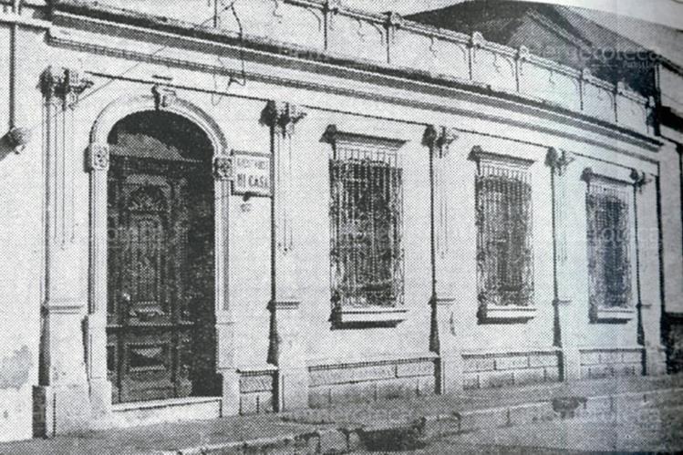 Fachada de la casa ubicada en la sexta calle y tercera avenida donde Prensa Libre tuvo su primera sede. Foto: Hemeroteca PL