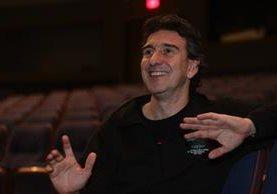 El argentino Julio Bocca se retiró del escenario en el 2007 después de una destacada carrera. Desde el 2010 dirige el Ballet Nacional de Uruguay.(Foto Prensa Libre: Álvaro Interiano)