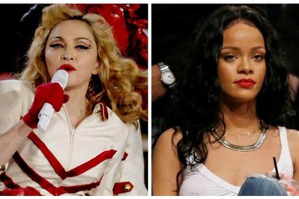 <p>Madonna y Rihanna trabajan en la producción de nuevo material. (Foto Prensa Libre: Archivo)<br></p>