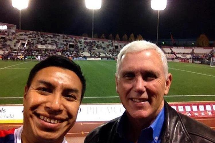 El guatemalteco Diego Morales es asesor en temas migratorios del candidato a la vicepresidencia del partido republicano, Mike Pence. (Foto Prensa Libre: Facebook)