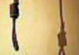 Con una cuerda al rededor del cuello fue hallado el cadaver de un hombre en un hotel de la zona 1 capitalina. (Foto Prensa Libre: Internet).