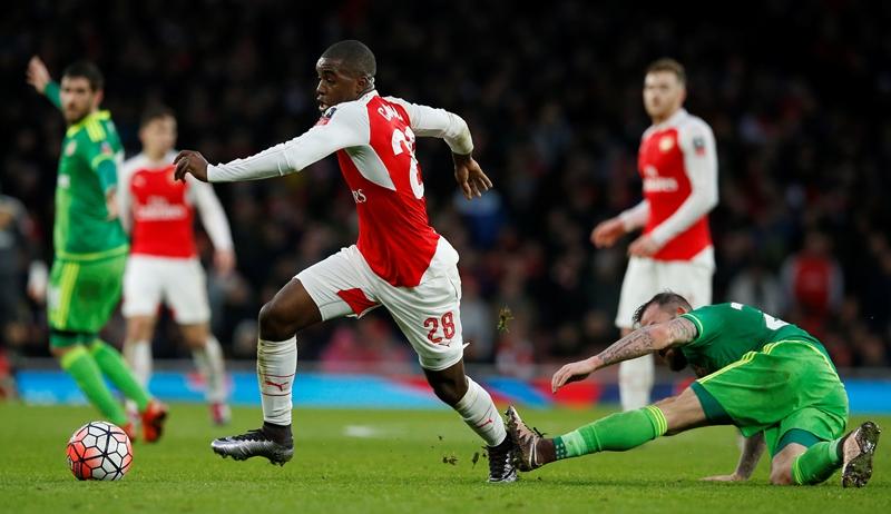 El Arsenal consiguió un empate sufrido este sábado. (Foto Prensa Libre: AFP)