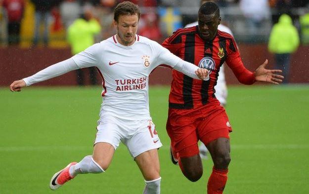 Galatasaray complica sus aspiraciones al caer contra Ostersuns. (Foto Redes).