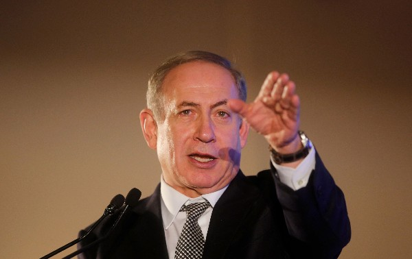 """Benjamin Netanyahu denunció el discurso """"sesgado"""".(AFP)."""