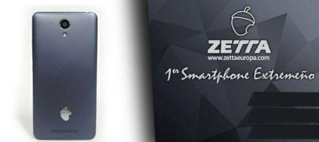 "Dice ser ""el primer smartphone extremeño"". (ZETTA)"