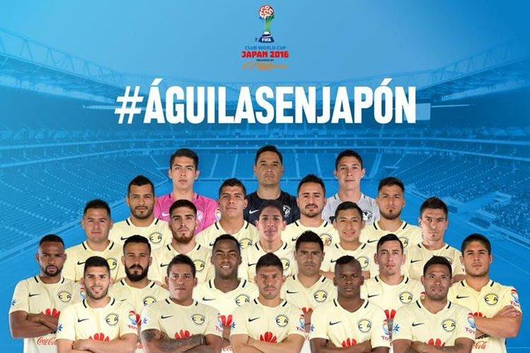 América representará a México en Japón. (Foto Prensa Libre: Twitter Club América)