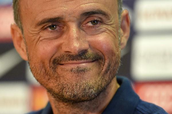 Luis Enrique está satisfecho por los refuerzos que tendrá en su equipo. (Foto Prensa Libre: AFP)